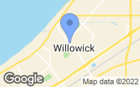 Map of Willowick, OH