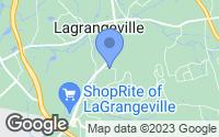 Map of Lagrangeville, NY
