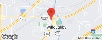 Map of 38110 3rd St in Willoughby