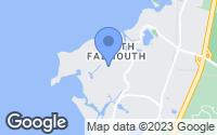 Map of Falmouth, MA