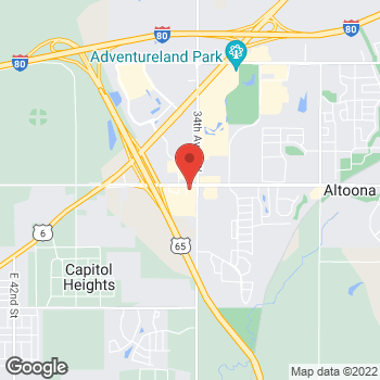 Map of Check `n Go at 3418 8th St SW, Altoona, IA 50009
