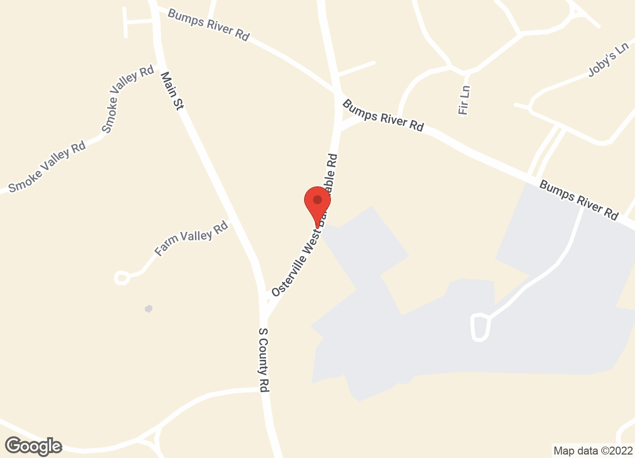 Google Map of VCA Osterville Veterinary Clinic