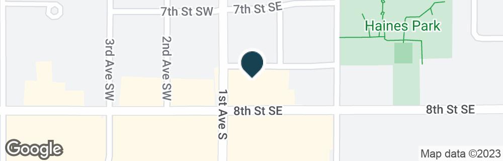 Google Map of101 8TH ST SE