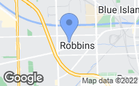 Map of Robbins, IL