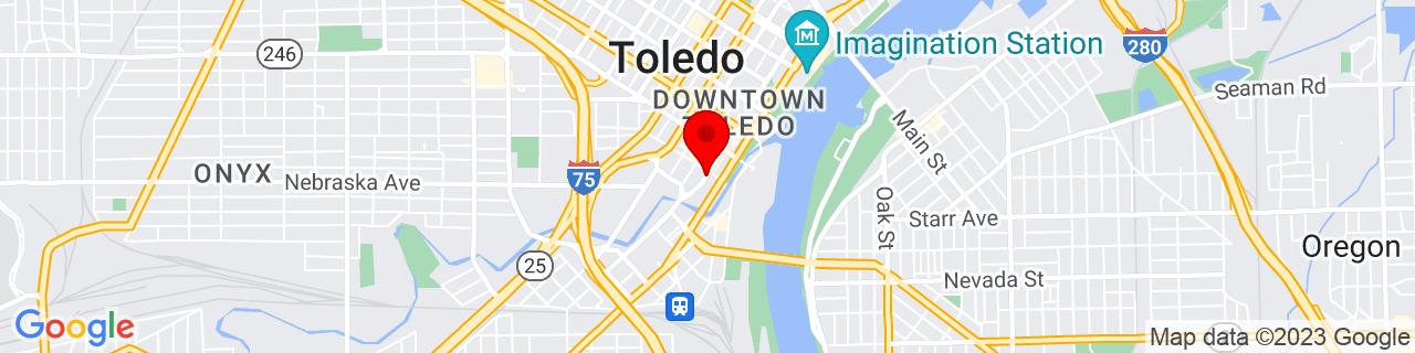 Google Map of 41.6458817, -83.5394177