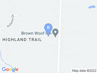 Map of Brown Woof Inn Dog Boarding options in Painesville | Boarding