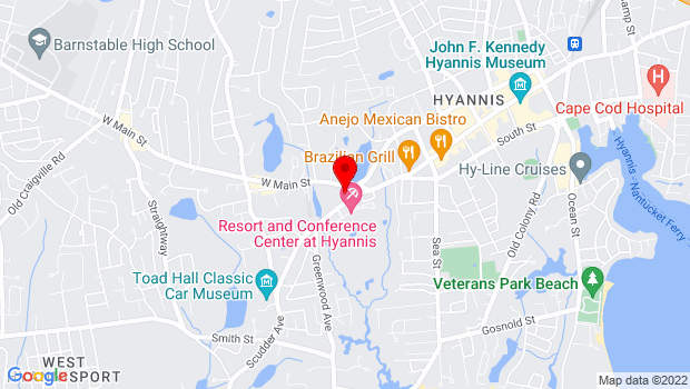 Google Map of 20 Scudder Avenue, Hyannis, Ma 02601