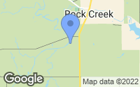 Map of Rock Creek, OH