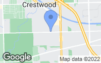 Map of Crestwood, IL