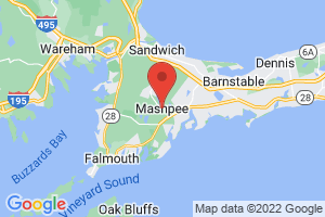 Map of Mashpee