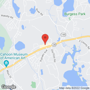 Map of Rite Aid at 3848 Falmouth Road, Marstons Mills, MA 02648