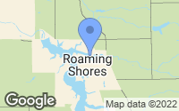 Map of Roaming Shores, OH