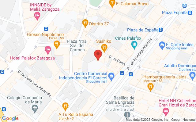 Administración nº6 de Zaragoza