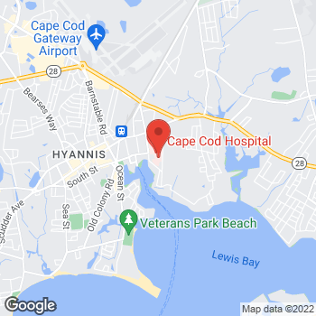 Map of David E. Leeman, MD at 40 Quinlan Way, Hyannis, MA 02601