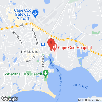 Map of Daniel Arnold, MD at 89 Lewis Bay Road, Suite 4, Hyannis, MA 02601