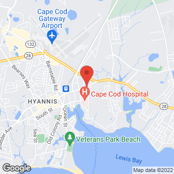 Map of Michael Curran, MD at 51 East Main Street, Hyannis, MA 02601