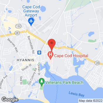 Map of Marc C. Fater, MD at 51 Main Street, Hyannis, MA 02601