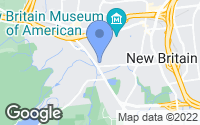 Map of New Britain, CT