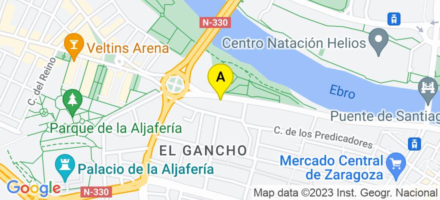 situacion en el mapa de . Direccion: Echegaray y Caballero 8, 50003 Zaragoza. Zaragoza