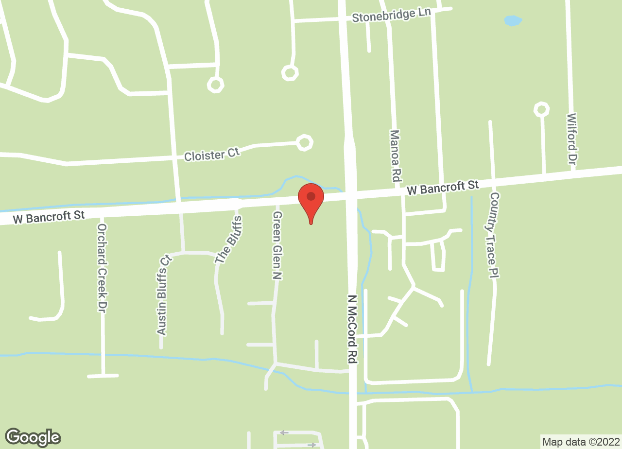Google Map of VCA Holly Farms Animal Hospital