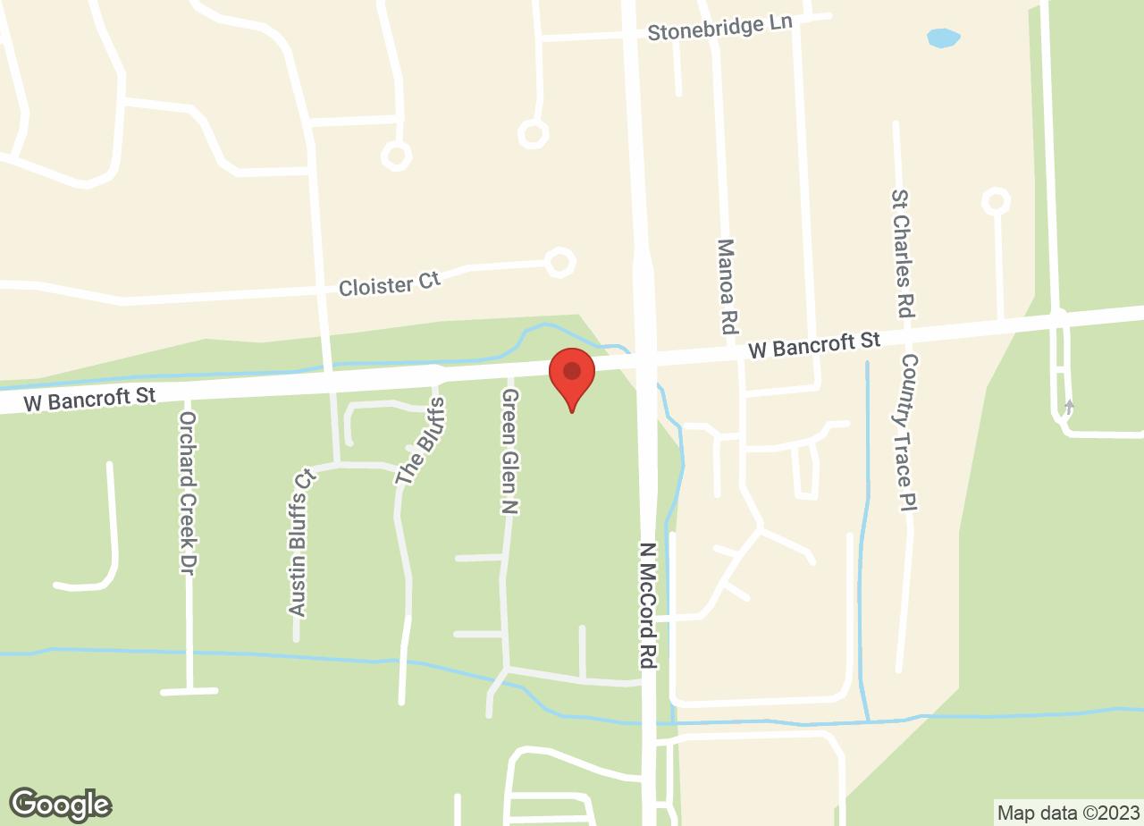Google Map of VCA Holly Farms Animal Hospital
