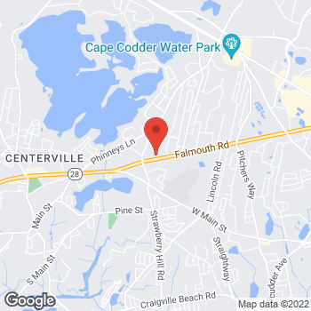 Map of Mariellen T. Rodman, MD at 1030 Falmouth Road, Hyannis, MA 02601