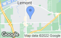Map of Lemont, IL