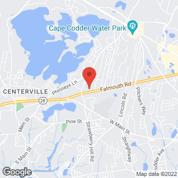 Map of Hira F. Zafar, MD at 1030 Falmouth Road, Suite 101, Hyannis, MA 02601