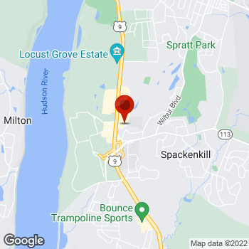 Map of Staples® Print & Marketing Services at 2522 South Road, Poughkeepsie, NY 12601