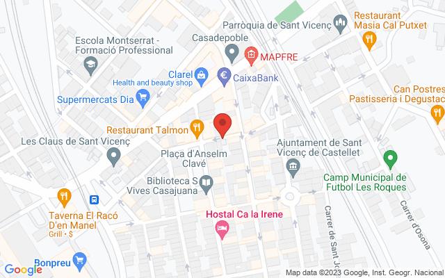 Administración nº1 de Sant Vicenç de Castellet