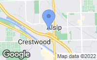 Map of Alsip, IL