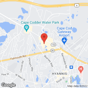 Map of location-map at 793 Iyannough Road (Space W135B), Hyannis, MA 02601