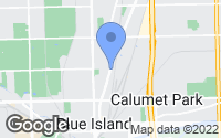 Map of Blue Island, IL