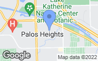 Map of Palos Heights, IL