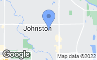 Map of Johnston, IA