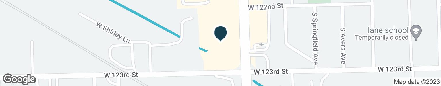 Google Map of12290 S PULASKI RD