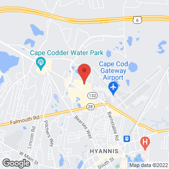 Map of Panera Bread at 790 Iyannough Road, Hyannis, MA 02601
