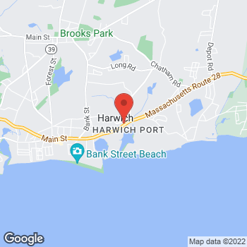 Map of Matthew B. Libby, DO at 710 Route 28, Harwich Port, MA 02646