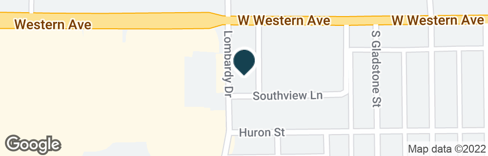 Google Map of4444 W WESTERN AVE