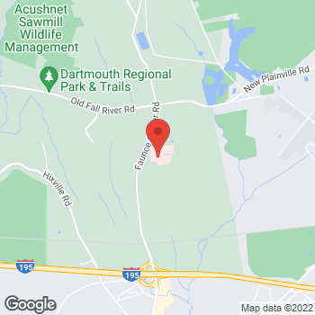 Map of Steven Edson, MD at 531 Faunce Corner Road, Dartmouth, MA 02747