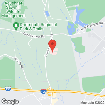 Map of Suzanne Caron, MD at 531 Faunce Corner Road, Dartmouth, MA 02747