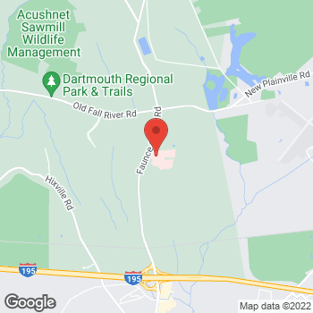 Map of Scott Reid, MD at 531 Faunce Corner Road, Dartmouth, MA 02747