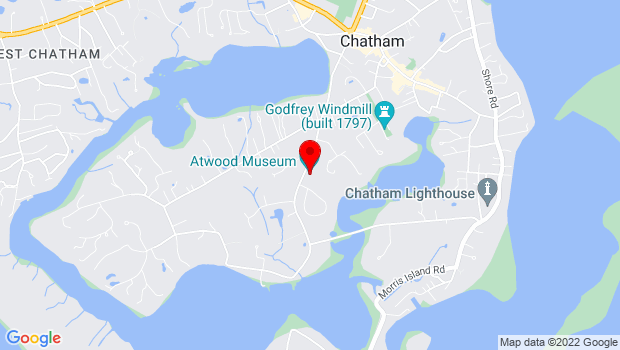 Google Map of 347 Stage Harbor Rd., Chatham, MA 02633
