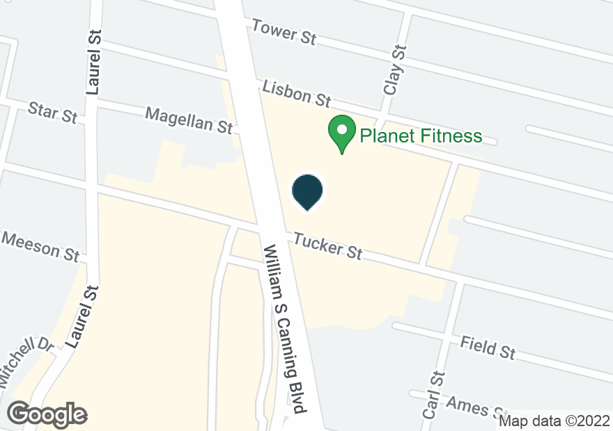 Google Map of328 RHODE ISLAND AVE