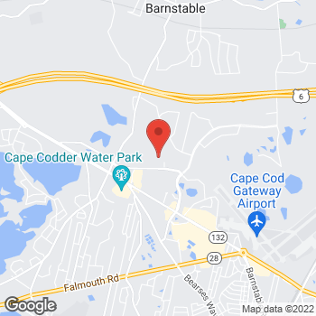 Map of Anne D. Morris, MD at 35 Wilkens Lane, Barnstable, MA 02601