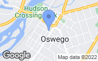 Map of Oswego, IL