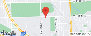 Map of 11535 S Central Ave in Alsip