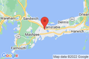 Map of Barnstable Area