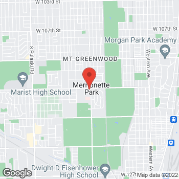 Map of Hair Cuttery at 3273 W 115th St, Merrionette Park, IL 60803