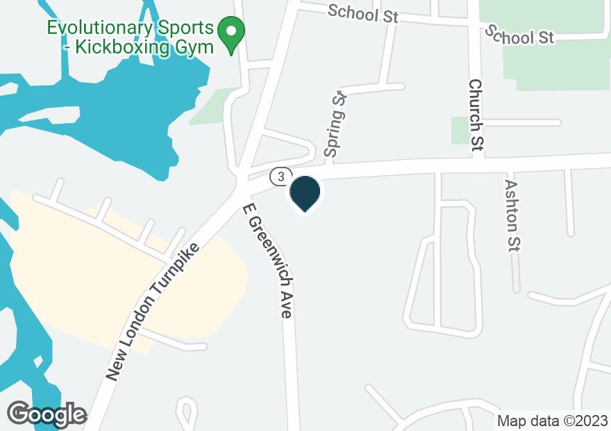 Google Map of1 COWESETT AVE